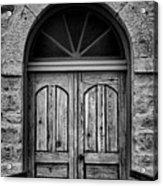 St Olafs Church Door Acrylic Print