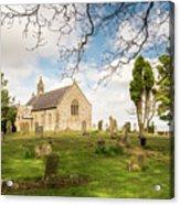 St Oswald's Church Graveyard Acrylic Print
