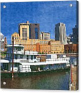 St Paul On The Mississippi Acrylic Print