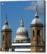 St Pauls An Alternate View Acrylic Print