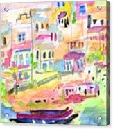St. Paul's Bay Malta Memories Acrylic Print