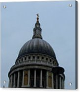 St. Paul's Cathedral Dome Acrylic Print