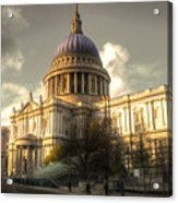 St Paul's Cathedral Acrylic Print