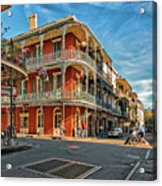 St Peter St New Orleans Acrylic Print