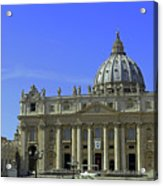St Peters Basilica Acrylic Print