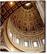 St Peters Looking Up Acrylic Print
