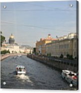 St. Petersburg Canal - Russia Acrylic Print