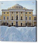 St Petersburg, Russia, Pavlovsk Palace Acrylic Print