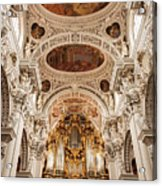 St. Stephen Cathedral Interior Acrylic Print