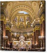 St. Stephen's Basilica Acrylic Print