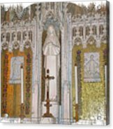 St Therese Of Liseaux Acrylic Print