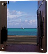 St. Thomas Alley 1 Acrylic Print