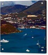 St. Thomas Bay Acrylic Print