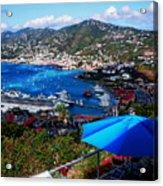 St. Thomas - Caribbean Acrylic Print