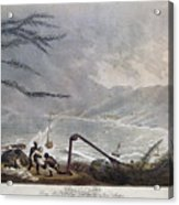 St. Thomas: Hurricane, 1819 Acrylic Print