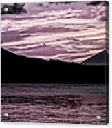 St Thomas - Sunset 2 Acrylic Print