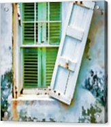 St Thomas - Window 1 Acrylic Print