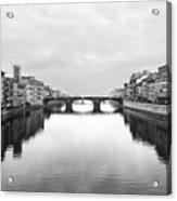 St. Trinity Bridge, Florence Acrylic Print