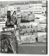 St. Tropez Paintings Acrylic Print