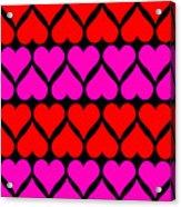 St. Valentine Love Acrylic Print