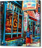St. Viateur Bagel Bakery Acrylic Print