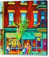 St Viateur Bagel Shop Acrylic Print