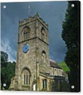 St Wilfrid Burnsall Acrylic Print