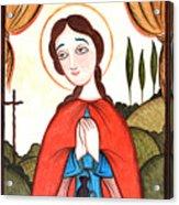 St. Zita - Aozit Acrylic Print