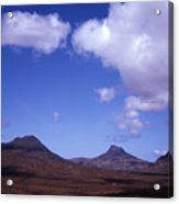 Stac Pollaidh Inverpolly National Nature Reserve Wester Ross Scotland Acrylic Print