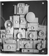 Stack O Cameras Acrylic Print