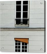Stacked French Windows Acrylic Print