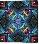 Stacked Kaleidoscope Acrylic Print