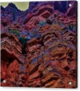 Stacked Rock Acrylic Print