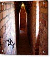 Stadhuset's Corridor Acrylic Print