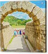 Stadium At Olympia, Greece  Acrylic Print