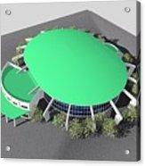 Stadium Model Acrylic Print