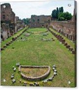 Stadium Of Domitian Acrylic Print