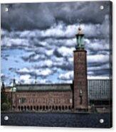 Stadshuset Color II Acrylic Print