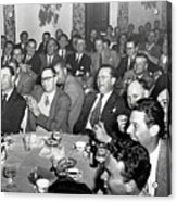 Stag Dinner And Awards Monterey Peninsula Country Club, Pebble Beach 1950 Acrylic Print
