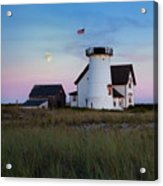 Stage Harbor Light Cape Cod Acrylic Print