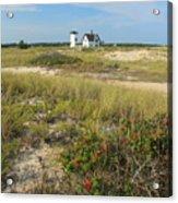 Stage Harbor Lighthouse Cape Cod Acrylic Print