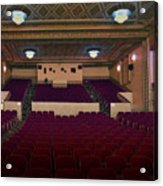 Stage View Acrylic Print