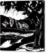 Stagecoach West Acrylic Print