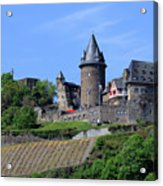 Stahleck Castle In The Rhine Gorge Germany Acrylic Print