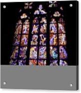 Stain Glass Window Acrylic Print