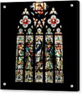 Stained Glass At St. John's Acrylic Print