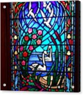 Stained Glass Beauty #20 Acrylic Print