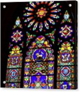 Stained Glass Beauty #46 Acrylic Print