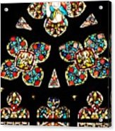 Stained Glass Glory Acrylic Print
