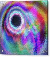 Stained Glass Morph #107 Acrylic Print